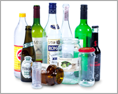 Bottles and packaging