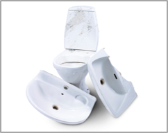 Sanitary, porcelain, ceramics